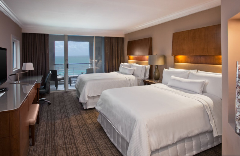Double Suite at  The Westin Hilton