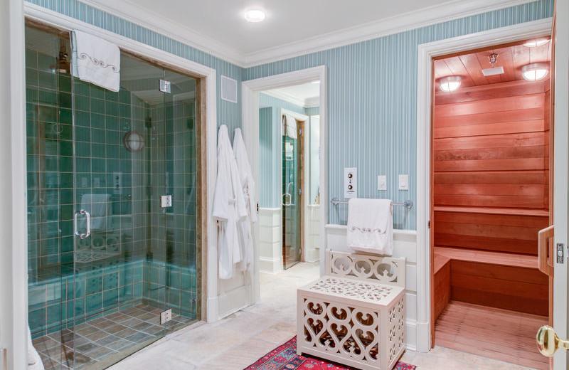 Rental bathroom at Aspen Luxury Vacation Rentals.