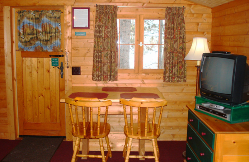 Cabin Interior at Mallard's Landing