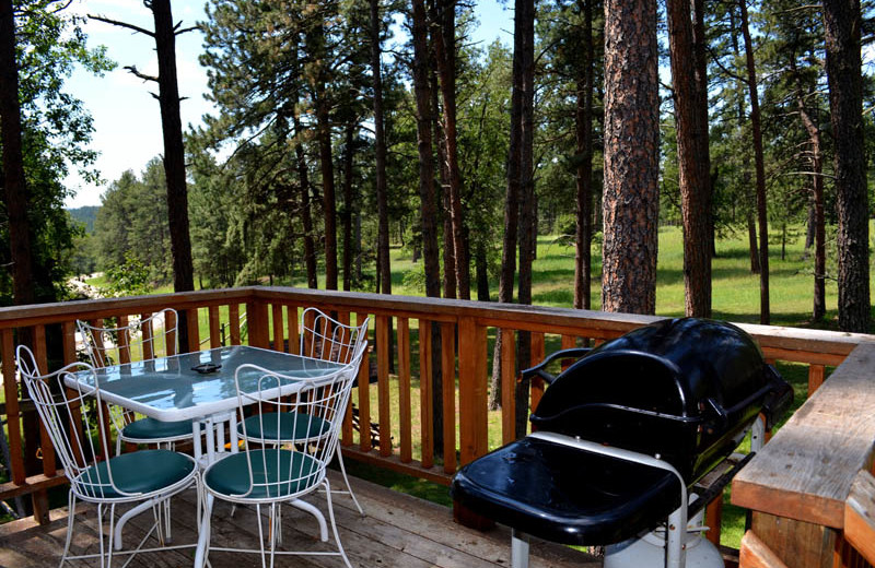 Silver Lining private deck