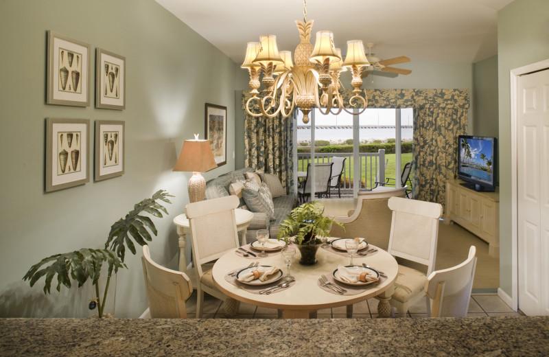 Guest dining room at Hawks Cay Resort.