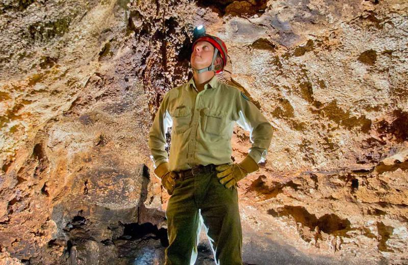 Colorado Bend State Park cave near BEST WESTERN Plus Lampasas.