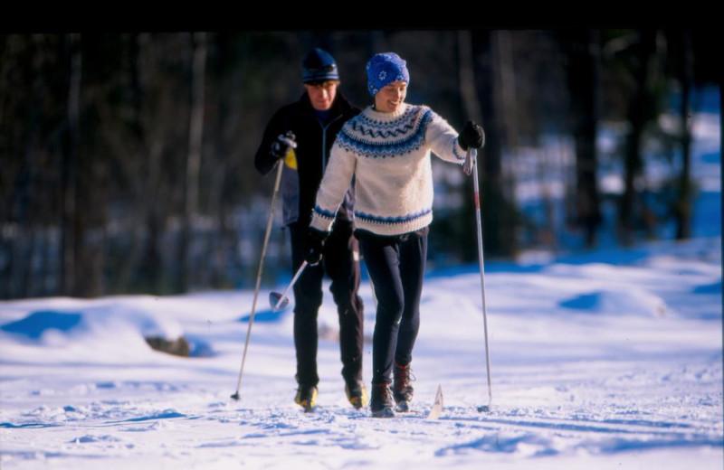 Skiing at Windrifter Resort.