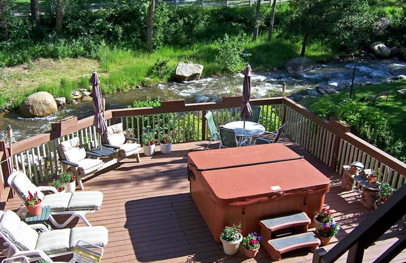 Deck at 4 Seasons Inn.