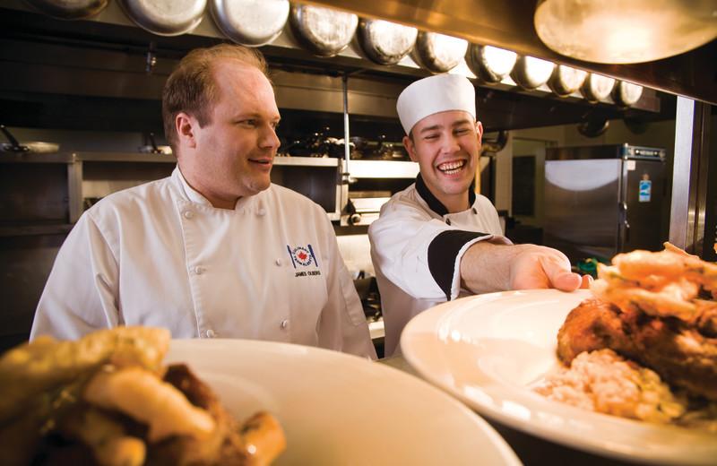 Chefs at Queen's Landing.
