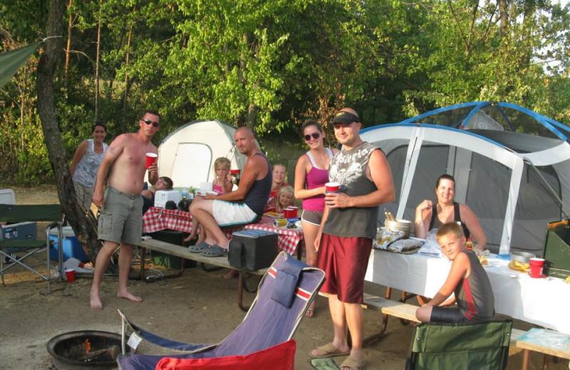Camping at Smokey Hollow Campground