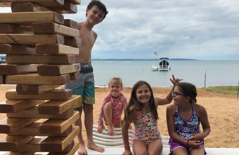 Family at Lakeshore Resort TC.
