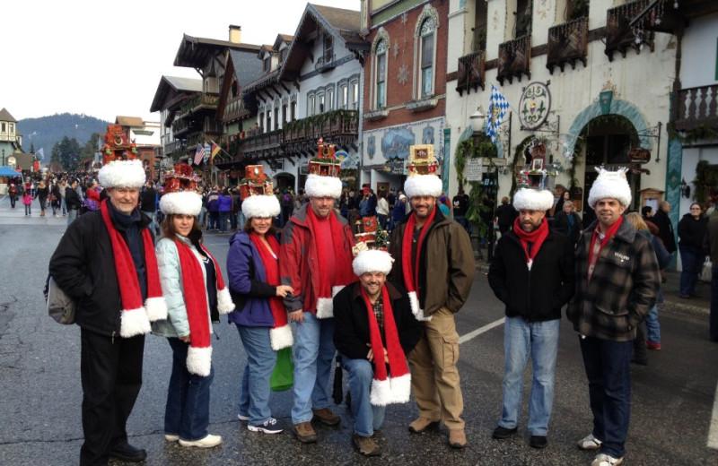 Family at Obertal Inn.