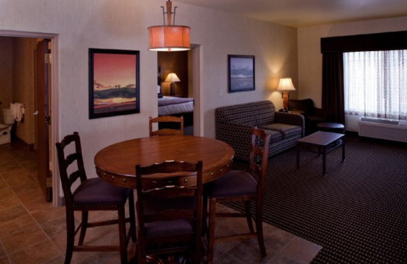 Guest suite at Best Western Bryce Canyon Grand Hotel.