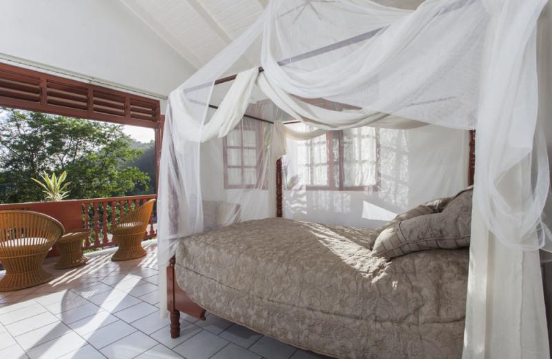 Guest room at Roseau Valley - Roseau, Dominica.
