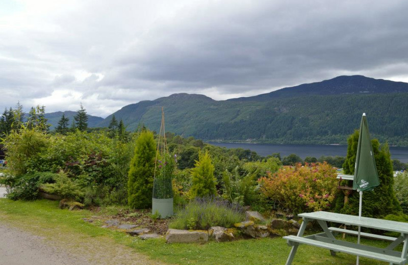 View from Craigdarroch Lodge.