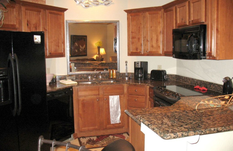 Rental kitchen at Anchor Vacations, Inc.