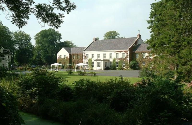 Exterior view of Tullylagan Manor.