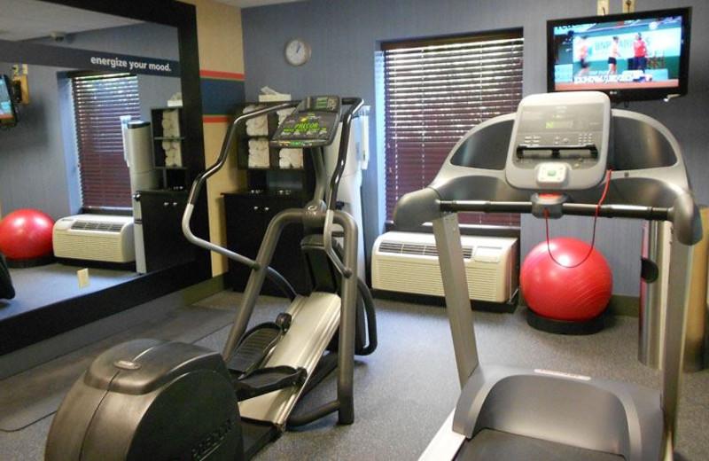 Fitness Center at Hampton Inn Oneonta