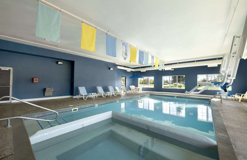 Indoor pool at Baymont Inn and Suites Mackinaw City.