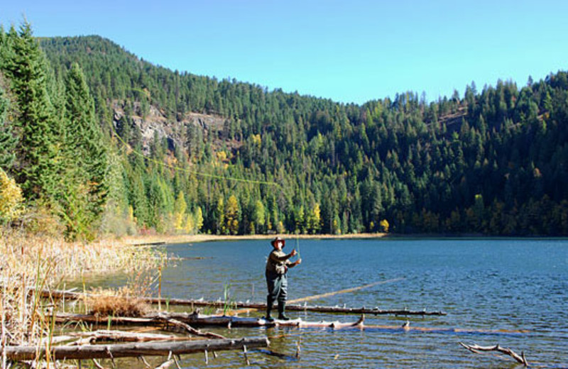 Fishing at The Idaho Club.