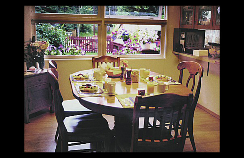 Breakfast at Banff Avenue Bed & Breakfast.