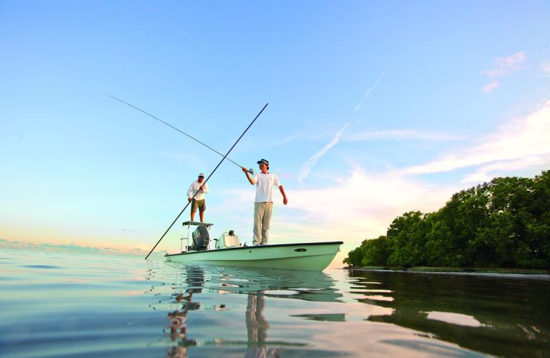 Fishing at Oceans Edge Key West Resort & Marina.