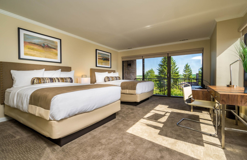 Guest room at Grand Traverse Resort and Spa.