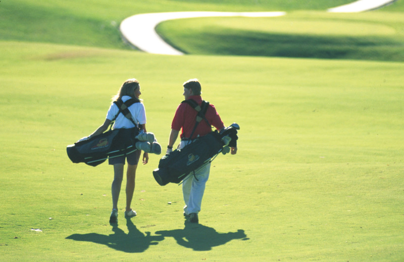 Golf course at The Green Mountain Inn.