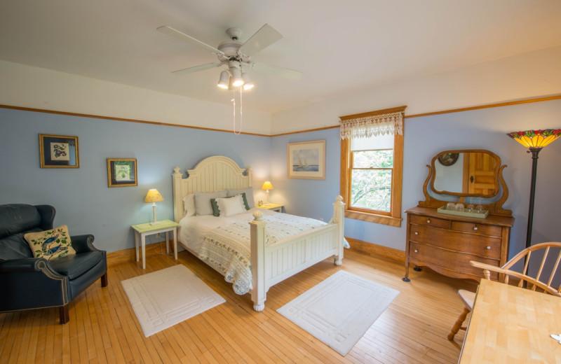 Guest room at Snowbird Inn Bed