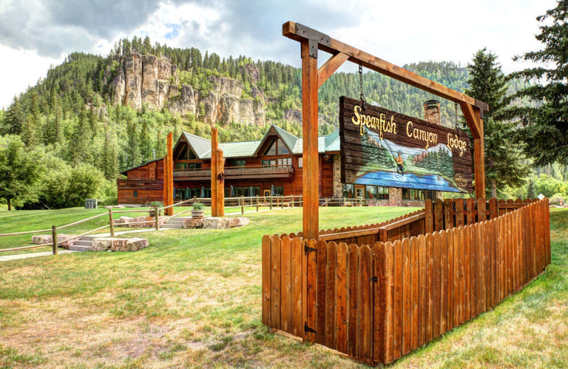 Exterior view of Spearfish Canyon Lodge.