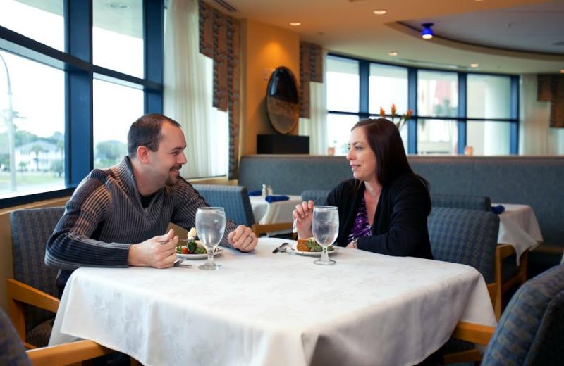 Dining at Avista Resort.