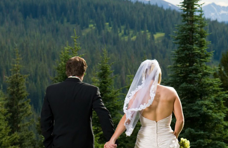 Weddings at Bighorn Meadows Resort.