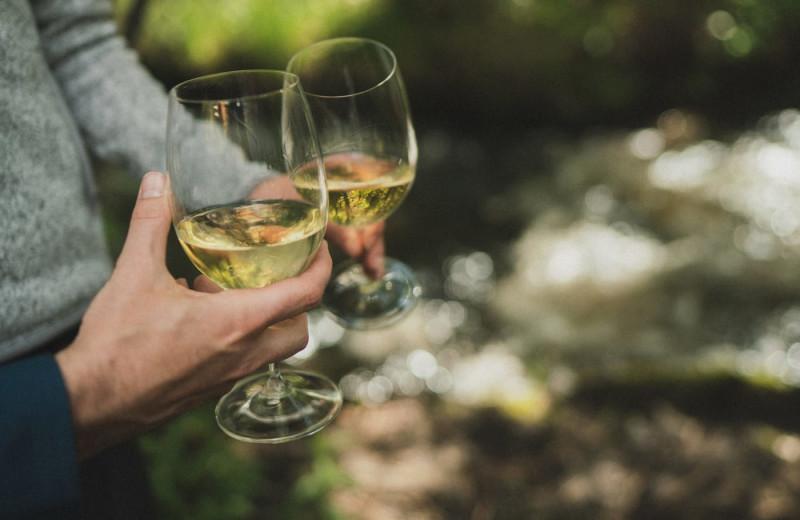 Wine tasting at The Green O.