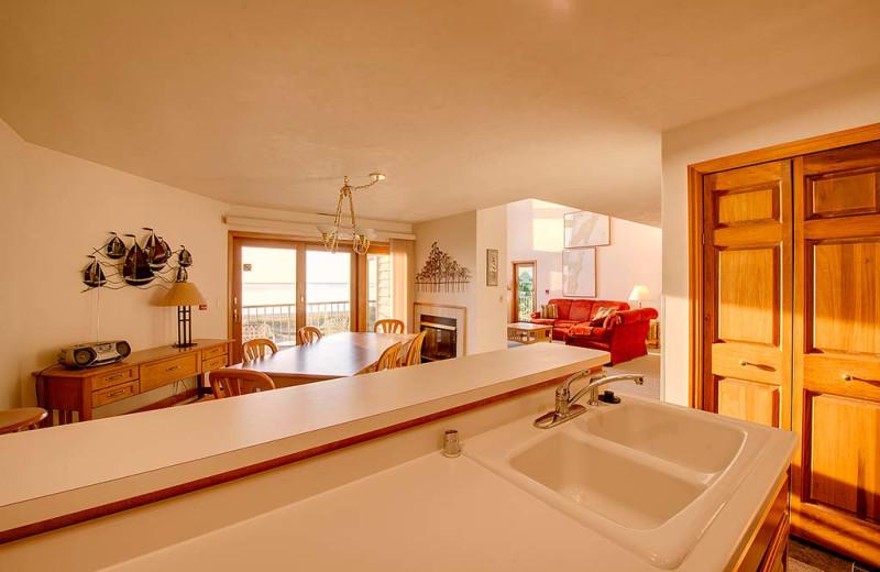 Guest condo at Glidden Lodge Beach Resort.