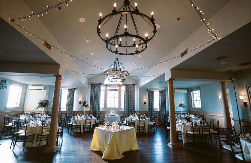 Wedding reception at Joseph Ambler Inn.