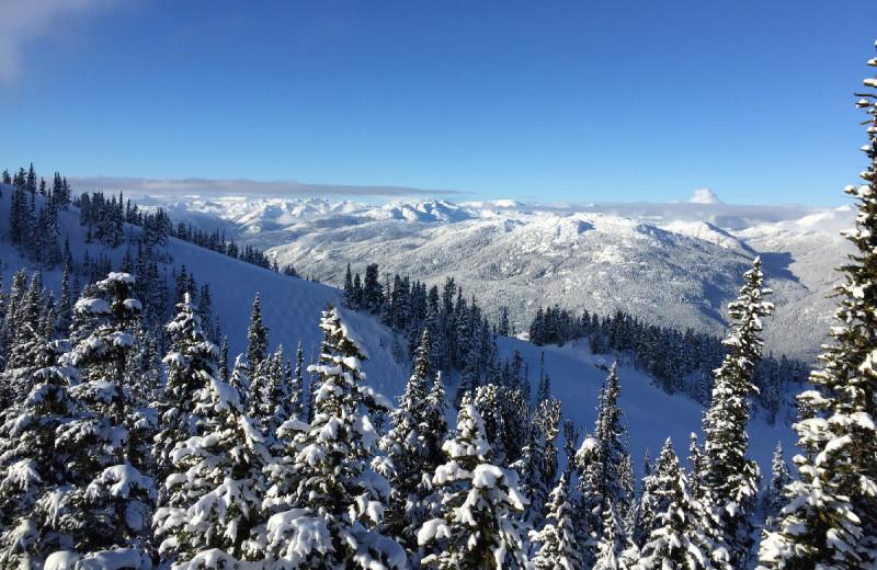 Mountains at Whistler Breaks.