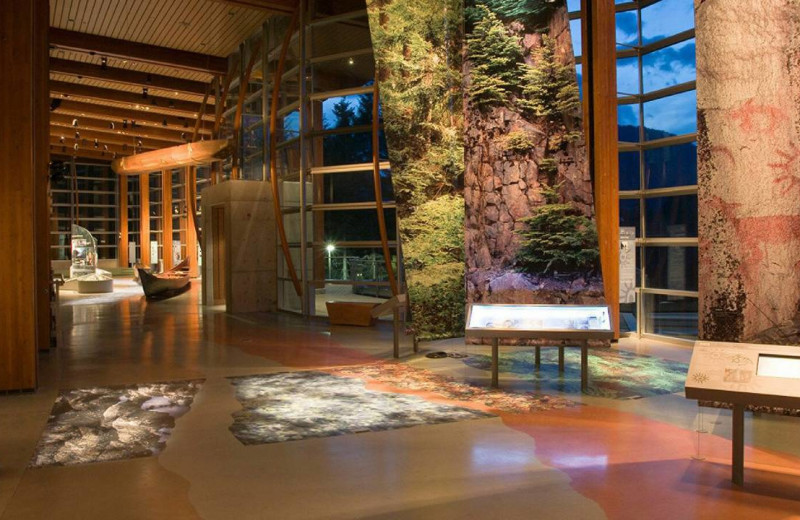Squamish Lil'wah Cultural Center at Four Seasons Resort Whistler.