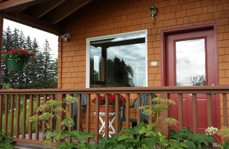 Exterior at Blue Heron Bed and Breakfast at Glacier Bay.