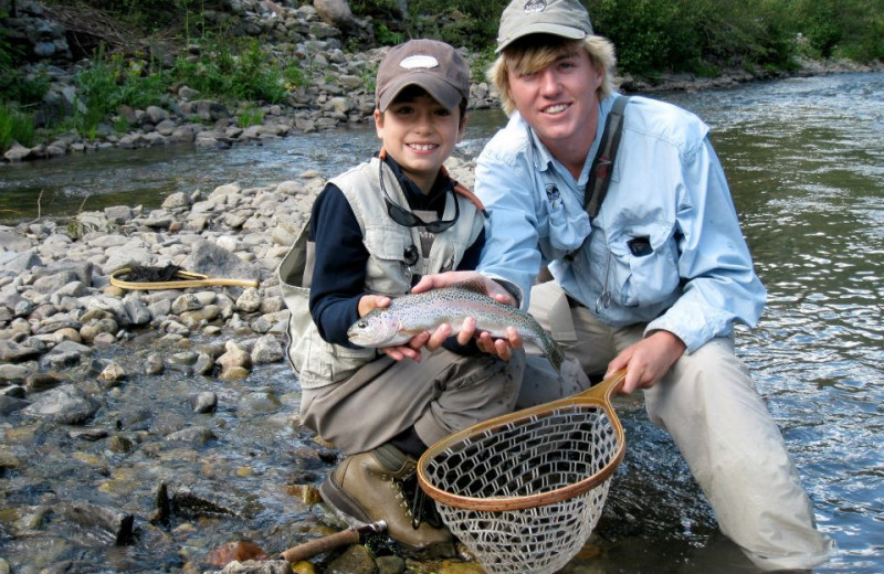 Fishing activity arranged by Lumiere Hotel in Telluride