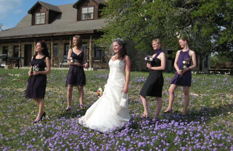 Wedding at Silver Spur Guest Ranch.