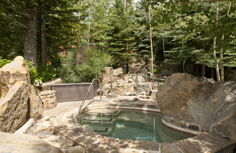 Vacation rental hot tubs at Cabin and Company.