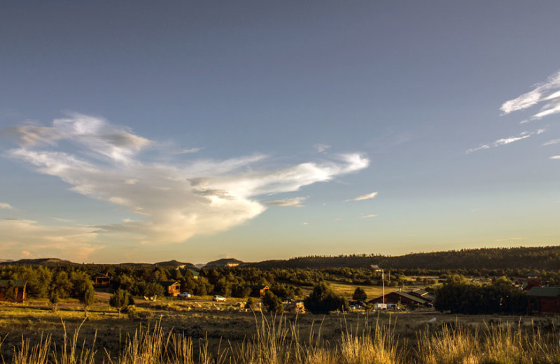 Exterior view of Zion Ponderosa Ranch.