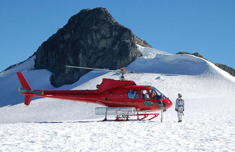 Helicopter rides at Four Seasons Resort Whistler.