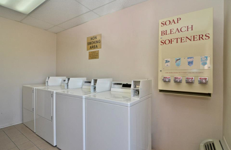 Laundry facilities at Best Western Coral Hills.