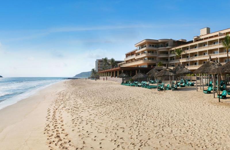 Beach at Hotel Playa Mazatlan.