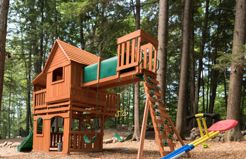 Playground at Northern Living - Luxurious Vacation Rentals.