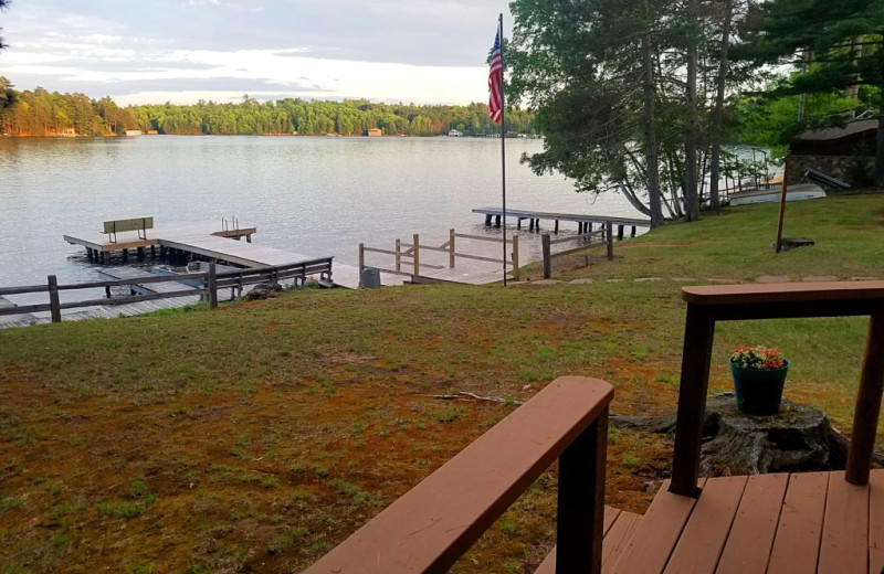 Lake view at Northwoods Property Management.