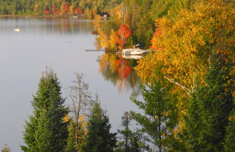 Lake at Schatzi's 4 Seasons Resort.