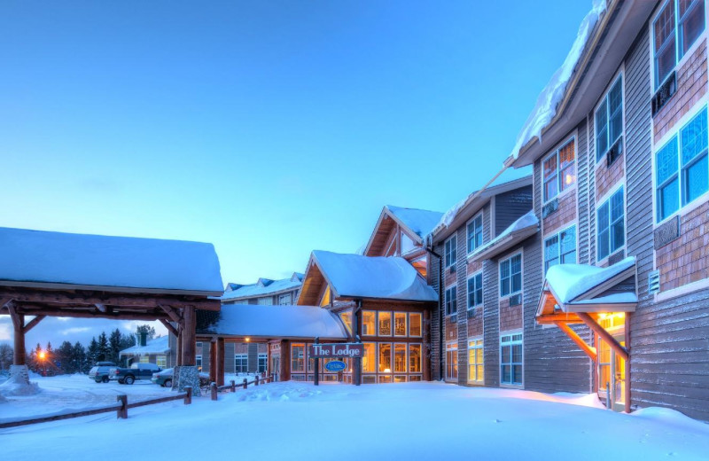 Winter at The Lodge at Giants Ridge.
