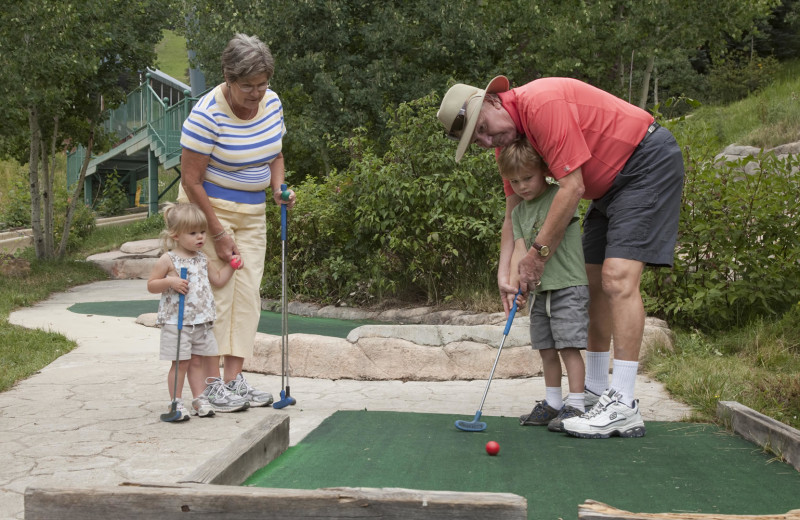 Mini Golf at Durango Mountain Resort