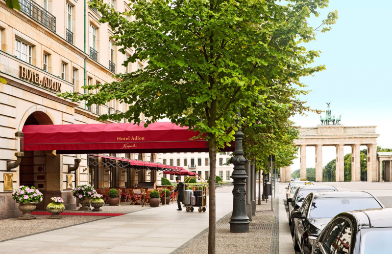 Exterior view of Hotel Adlon.