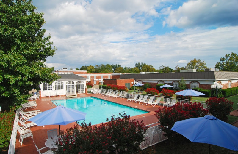 Outdoor pool at Best Western Eureka Inn.