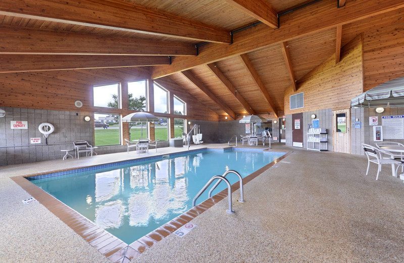 Indoor pool at AmericInn by Wyndham.