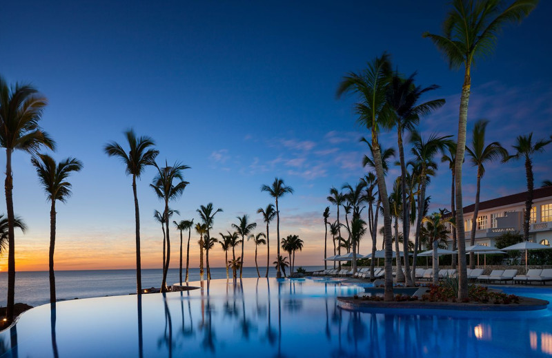 Outdoor pool at One and Only Palmilla.